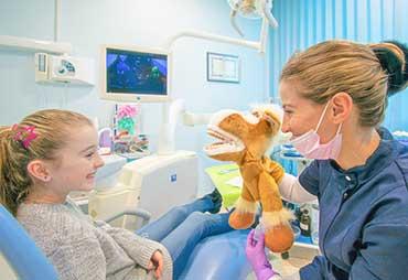 Dentista per Bambini, trattamento proposto da Studio Dentistico Arca